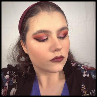 An example of Man eater in action to create a glam look.
