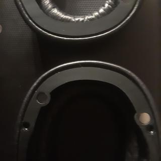 Ear cups detached