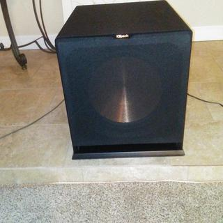 the 15 inch subwoofer