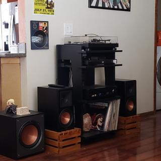 Klipsh Subwoofer made a great addition to my RP600-M. Great value and great sound!