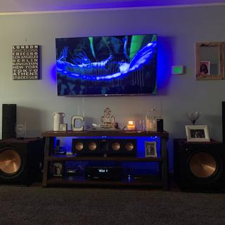 Looks amazing in any setup weather it's a 2 Channel or Home Theater.