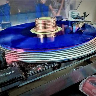 """My Ortofon Blue playing the new Doors """"Absolutely Live"""" LP."""