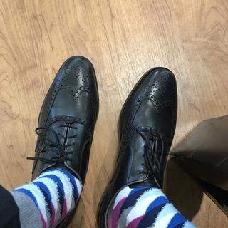 All about the socks, shoes are great though