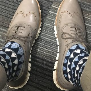 Sock game on point too...