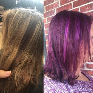 Pony: Bright Purple Vegan Semi-Permanent Hair Dye - Lime Crime