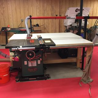 Table Saw Dust Collection Guard At Penn State Industries