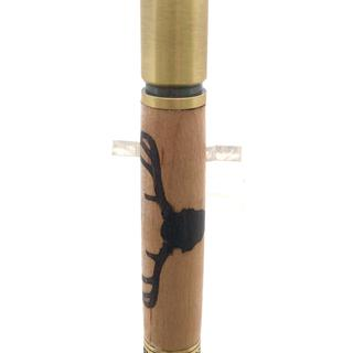 Deer Hunter Bolt Action Antique Brass Pen Kit #PKCP8DHAB