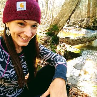 Nature girl!