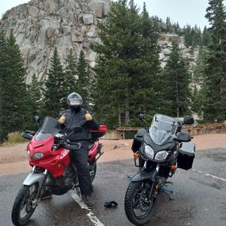 Pikes peak in the rain on a bike was comfortable in these pants.