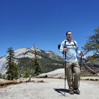Heading up to Half Dome
