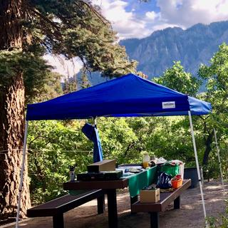 At Amphitheater Campground above Ouray