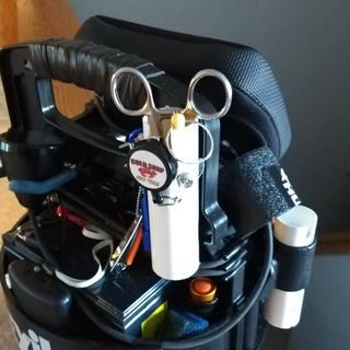 Accessory holder , can be used for 3rd rod if needed