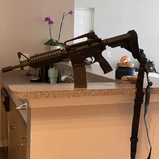 Colt Commando with SBA3 brace