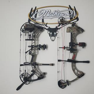 I love the way it compliments my two bows.  My Mathews V3 and my PSE Stinger 3G.
