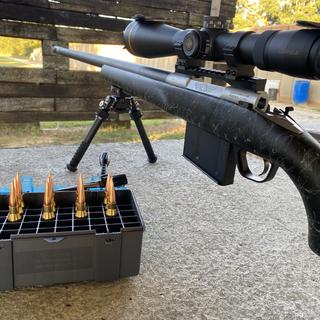 Absolutely the best Bipod I have owned! Holds up well so far under the Lapua!