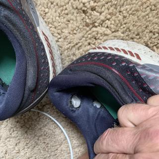 Left shoe