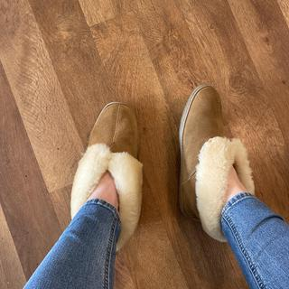 100% recommend these slippers. They hold up well & are so cozy to wear around the house.