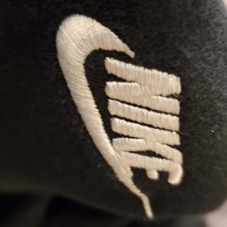 Nike logo thread is coming loose after 1 wash