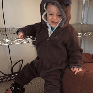 Tiny Bear II Bunting: LOVE IT!!!