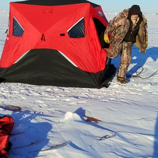 Eskimo FatFish 949i Pop-Up Ice Shelter | SCHEELS com