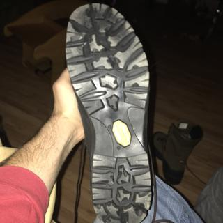 Very aggressive and durable Vibram Sole