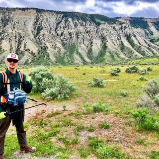 Spraying for Spotted Knapweed in Yellowstone w/ Montana Conservation Corps Wildland Restoration Crew