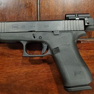 On a Glock 48