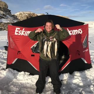 Eskimo FatFish 6120i Pop-Up Ice Shelter