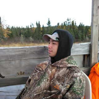 Canadian moose hunt 28 degrees stayed warm all day