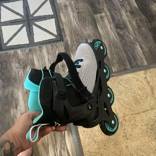 Great rollerblades! They roll very smooth! I'm enjoying the heck out of these!