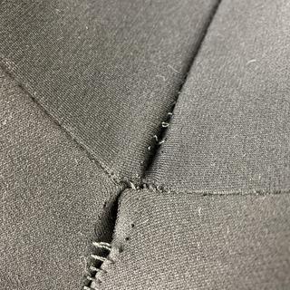 Seam separation in crotch