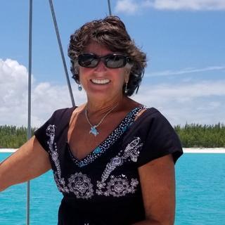 Aboard S/V Magic Happens anchored off the stunningly gorgeous beach on Treasure Cay, Abaco, Bahamas