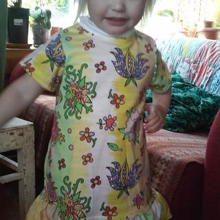 b3614fd870e DRess for little girl - looks like holiday egg