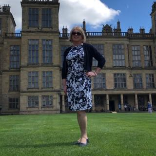 Spring day out at Hardwick Hall