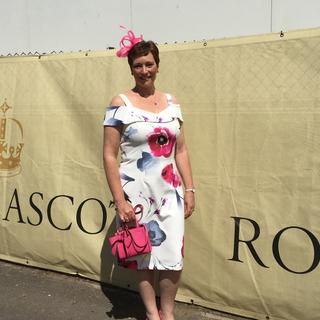 Loved wearing this dress, and accessorising with pink!