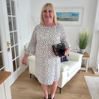 Lovely dress for a wedding