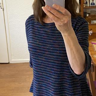 I love this top. Easy to wear, cosy and stylish.