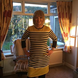 Loving my new knitted dress
