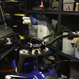 """Used these to mount my Pro Taper Contour bars onto the stock 7/8"""" risers on my flat tracker."""