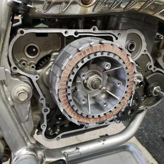 New clutch plates indtalled