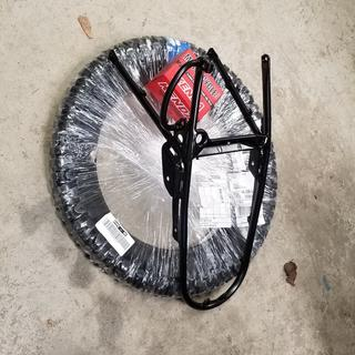 This is how the tire was shipped