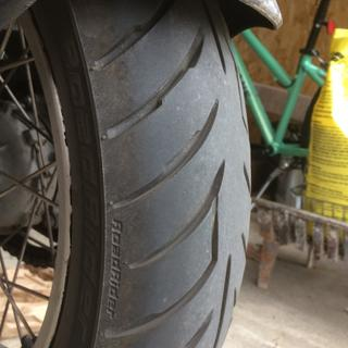 Rear tire with over 4K.  No issues.
