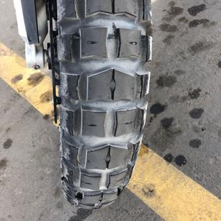 Front on 2017 BMW R1200GS