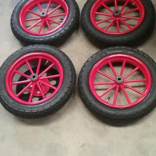 Tires look great for this project