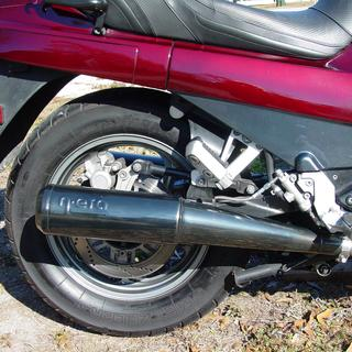 1994 Kawasaki ZG1000 Concours Right Rear with MOTAD Pipes