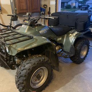 New rubber on an old ATV