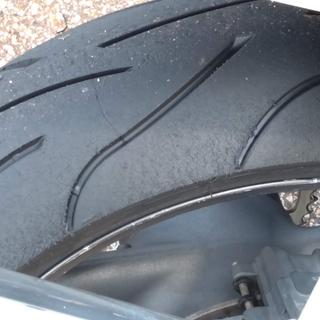 New at Road Atlanta track day. Great tire great milage.