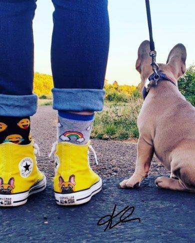 I'll wear them until they physically fall off of my feet.