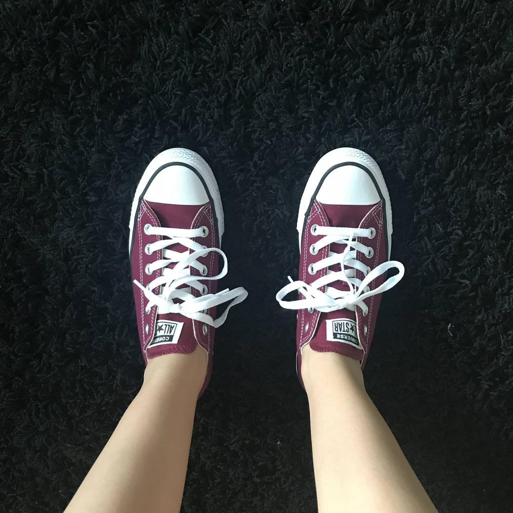 6be57ef1ce Love My Low Top All-Stars!