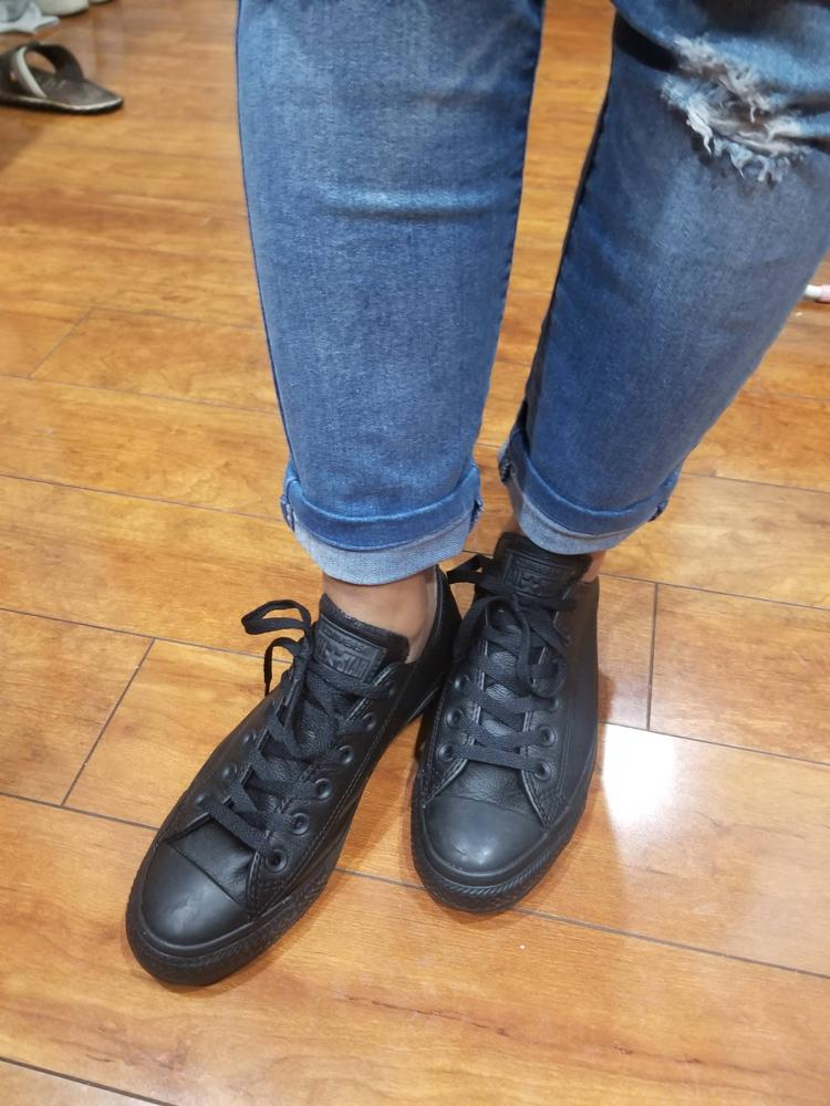 I received these shoes complimentary from converse for reviewing purposes and in my honest opinion I love the shoes. They fit absolutely true to size and so comfortable. These are Great for walking all through the day without hurting my legs. I am loving it and